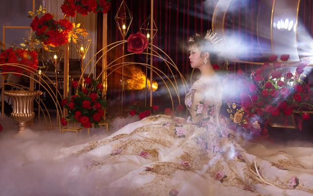 超有范儿的新娘/陆良婚礼/拾以唐人艺术空间