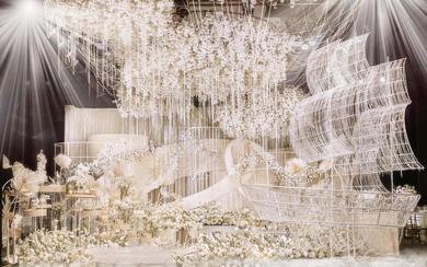 杭州婚蜜   月光船 · 香槟色唯美婚礼
