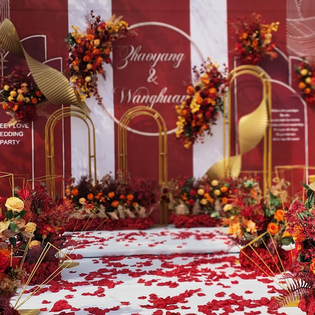 网红款户外-红色系列婚礼
