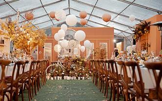 【琥珀婚礼】玻璃房婚礼