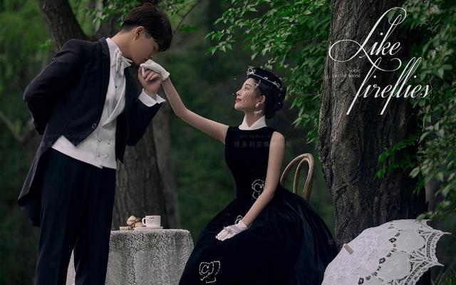 【维多利亚婚纱摄影】复古优雅质感婚纱照传承经典