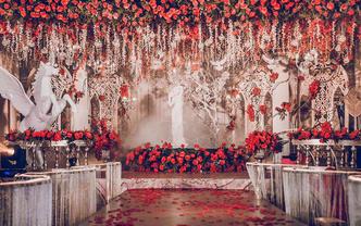 哒啉婚礼策划《ROSE ANGLE》创意|欧式