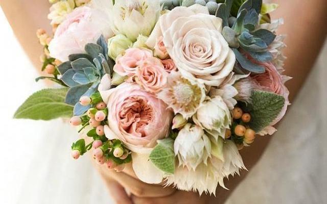 新娘手捧花欣赏,大家可以学习参考哦