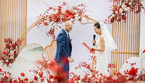新年优惠婚礼套系布置!!布置+留影区+主舞台