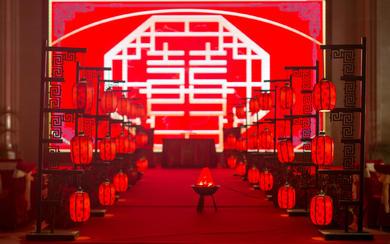 【三亚在四月海岛婚礼】传统红色中式婚礼