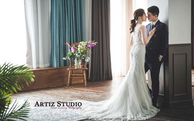 韩国艺匠、婚纱照、客片展示