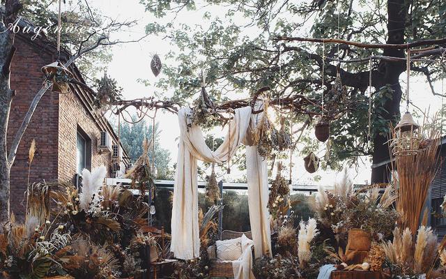 【棉绵】棉花元素为主的美式乡村风婚礼