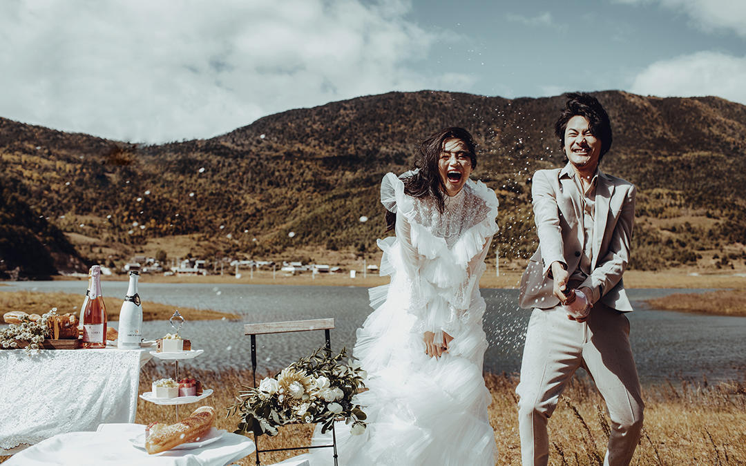 『打卡丽江』美爆朋友圈 婚纱照