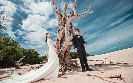 沙巴仙本那旅拍婚纱摄影马达京马步岛度假村拍摄两天