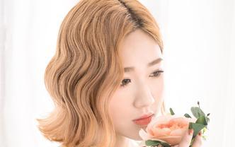 【小米造型】首席造型师 梦月老师 全天新娘跟妆