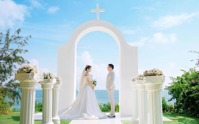 【北海旅拍】海景婚纱照+八服八造+底片全送