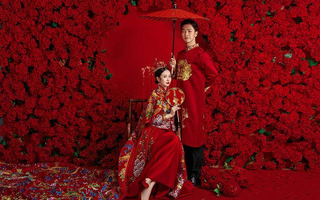【水晶之恋】品质原创——新中式·古典红