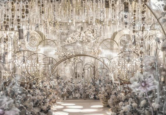 超火的创意浪漫唯美婚礼大型小型都可