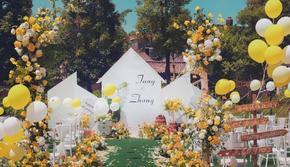 《超值爆款》户外黄色清新 鲜花 含「四大金刚」