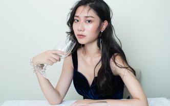 「超值租賃」微商活動晚宴禮服單件 化妝