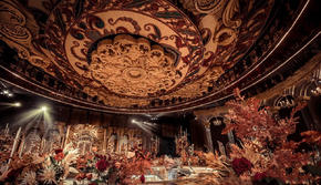 【蓝海婚礼】-欧式大气金色宫殿风-含婚礼管家