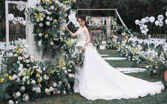 【城市森林】主题婚礼--户外森系