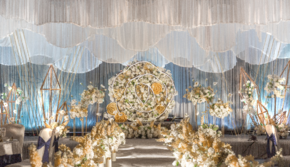 《米亚婚礼》黄白色西式婚礼定制版