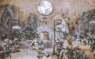 【1990婚礼企划】浅色中式浪漫婚礼-墨点江南
