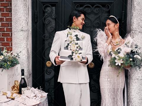 【特色】内+外+海景多元化套餐婚纱摄影无隐形消费