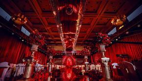 杭州婚蜜|正红大气婚礼(含四大)