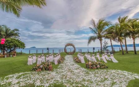 【三亚网红草坪】一价全包一站式海岛婚礼
