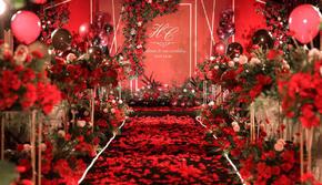 简约现代红色系婚礼-包四大金刚