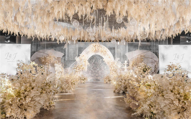 【匠心婚礼】大气香槟色婚礼
