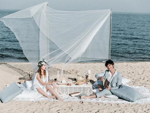 苏菲雅婚纱摄影 婚纱照 日照