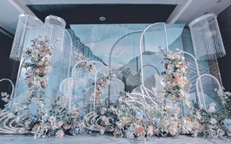 【巧目婚礼】蓝色系梦幻婚礼-天空之境
