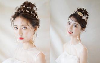 【DORIS新娘造型】首席造型师全日跟妆
