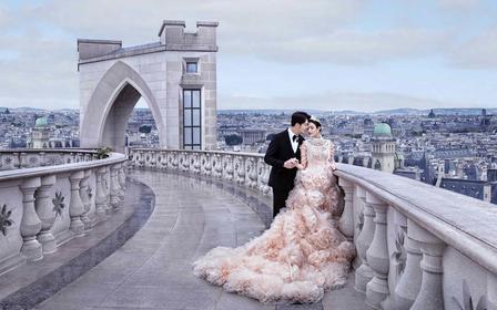 【高端定制】人气爆款艺术浪漫婚照+双影像拍摄