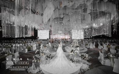 《十年之约》——高级简约浪漫白色经典婚礼