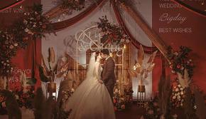 长沙维尔娜婚礼 复古红色系