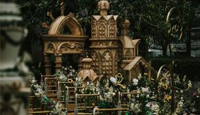 蔷薇婚礼|户外草坪|欧式城堡主题婚礼 四季酒店