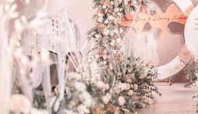 【尚壹婚礼】小预算性价比高 粉色系婚礼