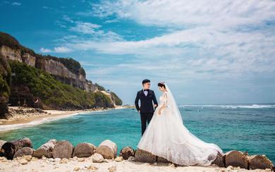 爱旅拍巴厘岛•客照欣赏•巴厘海滩•王&李