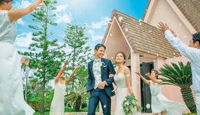 冲绳阿菈曼达教堂婚礼策划婚礼套餐