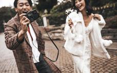 《麦田印象婚纱摄影》城市旅拍