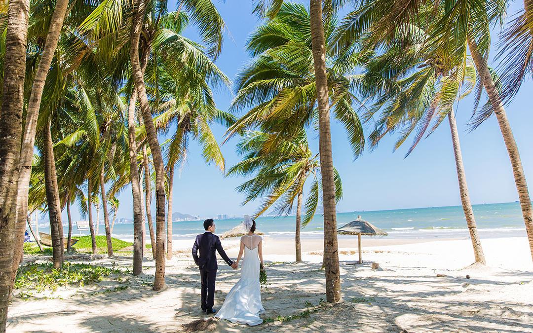 三亚丽江旅拍机票补贴立减一千底片全送海景椰林雪山