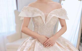 法式品牌主纱+重工印度丝秀禾+设计师款晚礼服