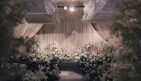 韩式婚礼—回归庄重优雅的纯净感-香格里拉酒店