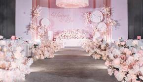 《烂漫一生》粉色公主梦婚礼,厦门婚庆布置