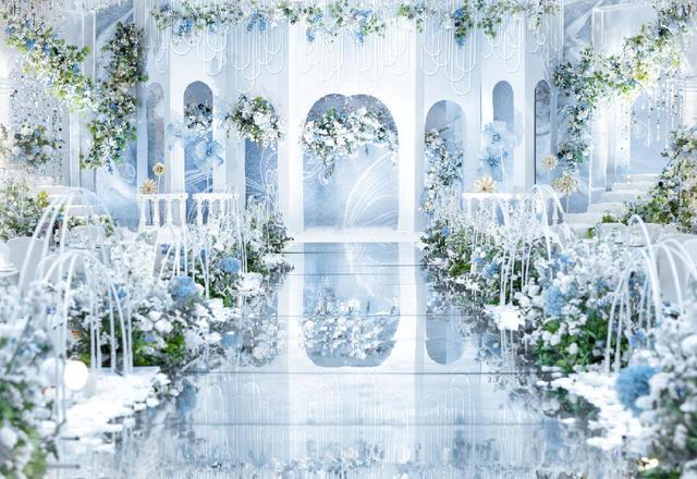 【萝亚婚礼】极简风格婚礼「蓝色随想」