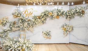 薄荷园婚礼|简约香槟色 含四大金刚【双11限时】