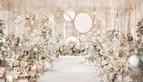 木木婚礼《Swan Lake》香槟金婚礼轻奢版