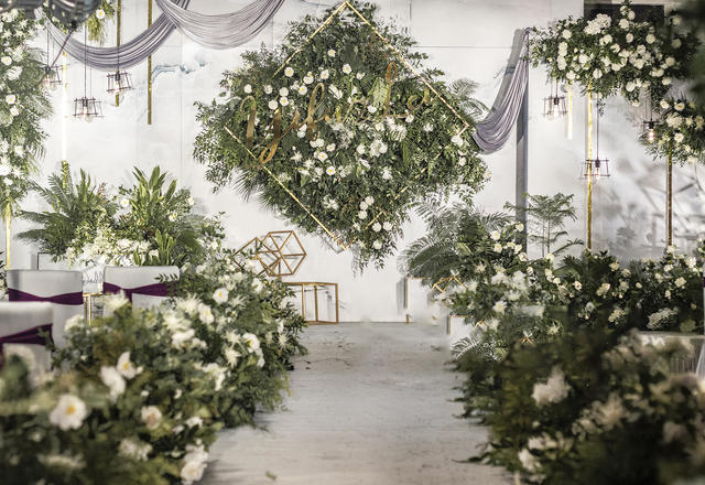 【柒宝婚礼】许一生,携一世,山有木兮卿有意