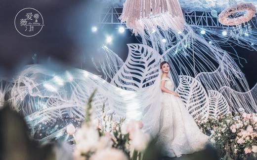 三亚爱薇汀草坪户外婚礼婚庆 之爱的羽翼