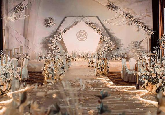 《Splendid》香槟色定制主题婚礼