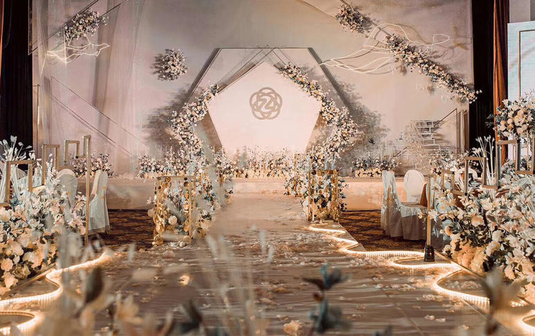 《Splendid》香檳色定制主題婚禮